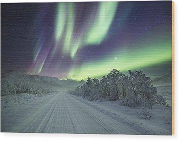 Road View Wood Print