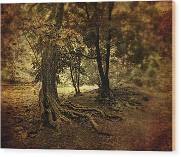 Rooted In Nature Wood Print by Jessica Jenney