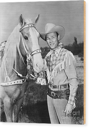 Roy Rogers Wood Print by Granger