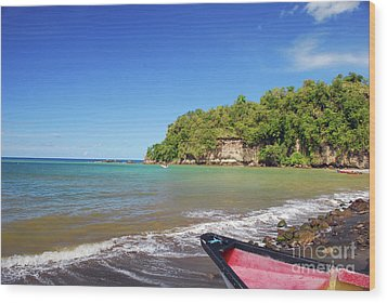 Wood Print featuring the photograph Saint Lucia by Gary Wonning