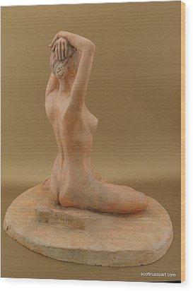 Shenel Wood Print by Scott Russo