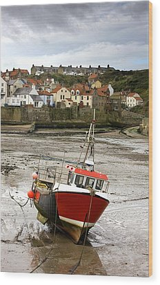 Staithes, North Yorkshire, England Wood Print by John Short