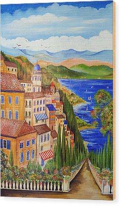 The Lake Wood Print by Roberto Gagliardi