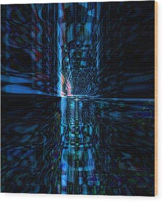 The Light Wood Print by Fania Simon
