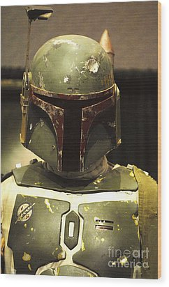 The Real Boba Fett Wood Print by Micah May
