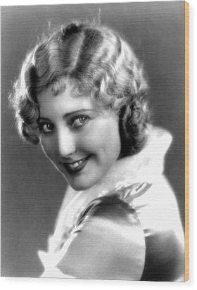 Thelma Todd, Portrait Ca. 1935 Wood Print by Everett