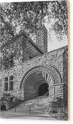 University Of Minnesota Pillsbury Hall Wood Print