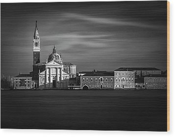 Wood Print featuring the photograph View From San Marco by Andrew Soundarajan