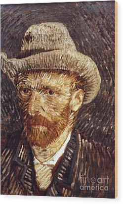Vincent Van Gogh Wood Print by Granger