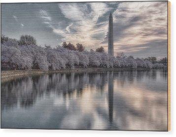 Washington Sunrise Wood Print