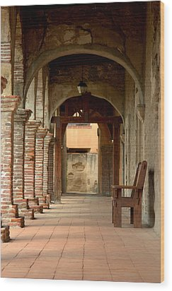 Mission San Juan Capistrano Wood Print by Brad Scott