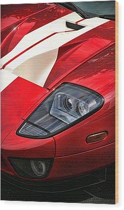 2004 Ford Gt Wood Print by Gordon Dean II