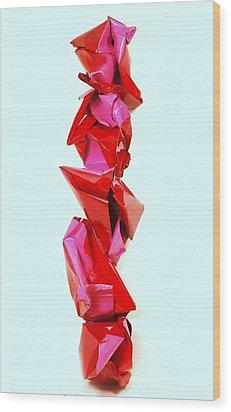 2004 Mini Super Stretch Limo  Wood Print by Mac Worthington