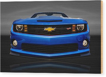 2013 Chevrolet Camaro Hot Wheels  - Cv Cam22 Wood Print