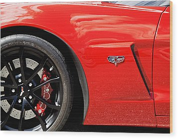 2013 Corvette Wood Print