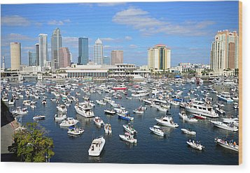 2013 Gasparilla Pirate Fest Wood Print by David Lee Thompson