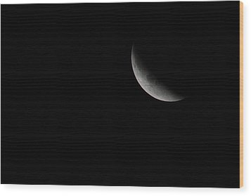 2015 Harvest Moon Eclipse 1 Wood Print