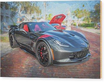2017 Chevrolet Corvette Gran Sport  Wood Print by Rich Franco