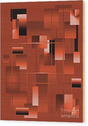 2022-2017 Wood Print by John Krakora