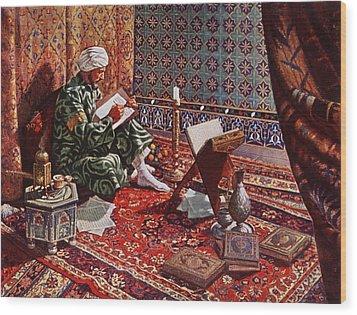 20th Century Illustration Wood Print by Everett