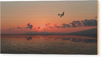 2177 Wood Print