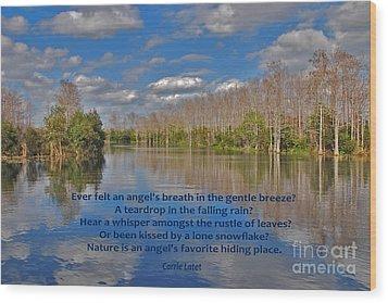 22- An Angel's Breath Wood Print by Joseph Keane