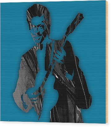 Chuck Berry Collection Wood Print