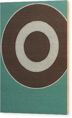 Circle Group Wood Print by Hang Ho