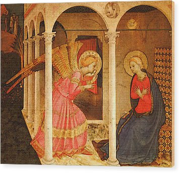 Fra Angelico  Wood Print by Fra Angelico