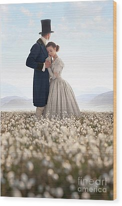 Wood Print featuring the photograph Victorian Couple by Lee Avison