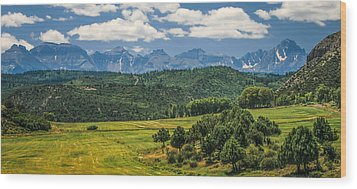 #2918 - Sneffles Range, Colorado Wood Print