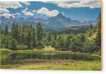 #2933 - Sneffles Range, Colorado Wood Print