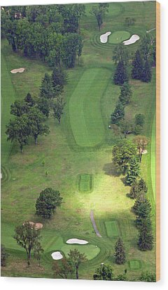 2nd Hole Sunnybrook Golf Club 398 Stenton Avenue Plymouth Meeting Pa 19462 1243 Wood Print by Duncan Pearson