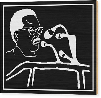 Agostinho Neto Wood Print