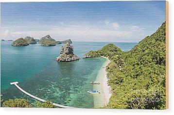 Ang Thong Marine National Park Wood Print