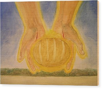Bread From Heaven Wood Print by Nigel Wynter