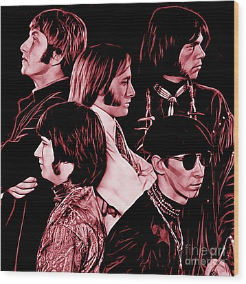 Buffalo Springfield Collection Wood Print