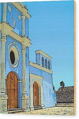 Central America Nicaragua Wood Print by Lisa Dunn