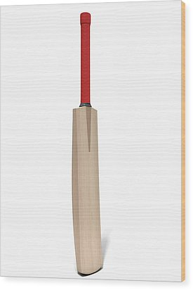 Cricket Bat Wood Print