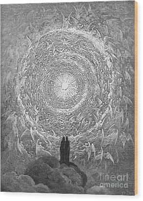 Dante: Paradise Wood Print by Granger