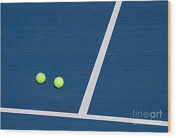 Florida Gold Coast Resort Tennis Club Wood Print by ELITE IMAGE photography By Chad McDermott