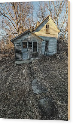 Wood Print featuring the photograph Forgotten by Aaron J Groen