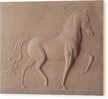 Indestructible Wood Print by Deborah Dendler