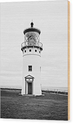 Kilauea Lighthouse Wood Print by Scott Pellegrin