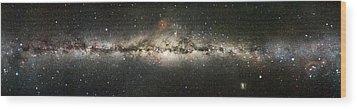 Milky Way Wood Print by Eckhard Slawik
