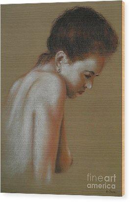 Nude Wood Print