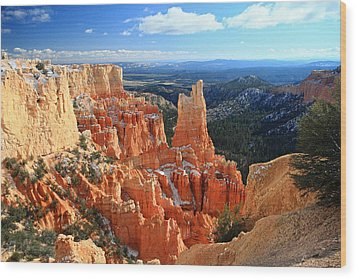 Paria Point In Bryce Canyon Wood Print by Pierre Leclerc Photography