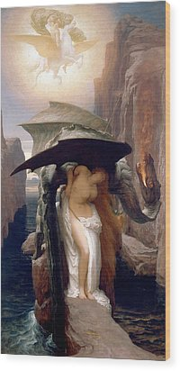 Perseus And Andromeda Wood Print by Frederic Leighton