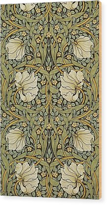 Pimpernel Wood Print by William Morris