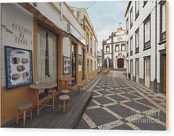Ponta Delgada - Azores Wood Print by Gaspar Avila